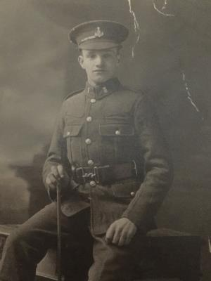 Clarence Victor  Reeve , Green Howard's /Prince of Wales Yorkshire Regiment