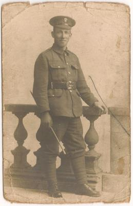Edwin Ieversw, Private, Royal Northumberland Fusiliers