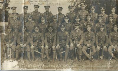 George A  Pepper, Yorks and Lancs Regiment