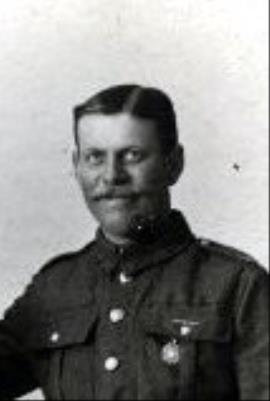 George Ansell, Corporal   Bedfordshire Regiment