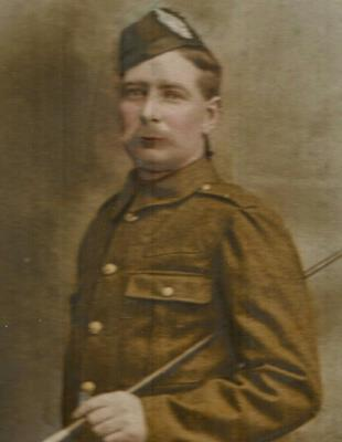 Angus Smith, Private, Argyll and Sutherland Highlanders