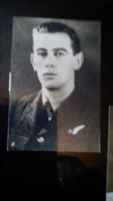 BOYCE Chappell, FLIGHT SARGENT,BOMBER COMMAND,AIR FORCE
