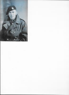 John Creed, Royal Armoured Corps, 16th/5th Lancers. Trooper 7889653