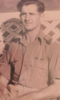 Ronald  Malia, Private Argyl & Sutherland Highlanders