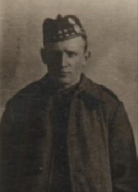 Robert James Wright, Private 13321 7th Bat. Royal Scots Fusiliers