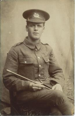 George Braithwaite, Private 24928, 9th Bn., West Yorkshire Regiment (Prince of Wales's Own)