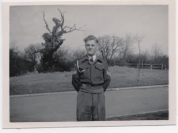 Alfred Frederick George Wood, Royal Artillery, service number 14318641. Operation Market Garden 1944.