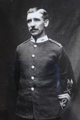 Joseph  Lomax, No 841 Lance Corporall  1st Bn Lancashire Fusili