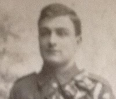 Frederick Charles Calloway, Gunner .Royal Field Artillery Hampshire regiment