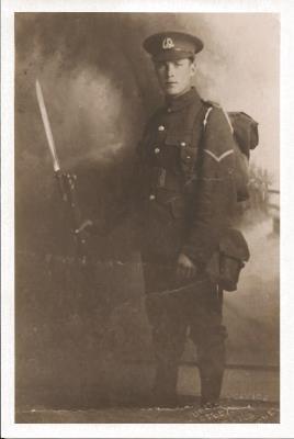 Edward James (Teddie) Tuttle, Lance Corporal 20637 1st Battalion Essex Regiment