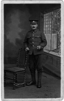 Thomas William Bramwell, Private 8th Yorkshire regiment  17113