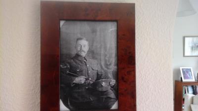 George Bloomfield, Shropshire Kings light infantry