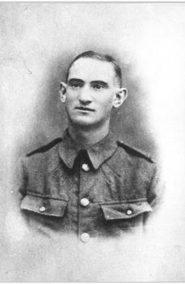 John Kelvie Palmer, Cheshire Regiment, Private