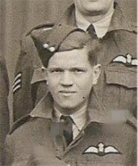 Roy Gallop, Royal Air Force/A.Flt Sgt (commissioned posthumously to Pilot Officer)
