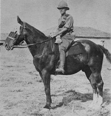Robert McQuillan, Driver, Royal Field Artillery