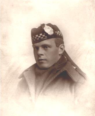 John GRAY, Pte S/9042 Argyll & Sutherland Highlanders