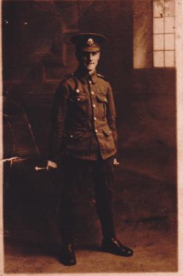 Robert Stephenson Baxter, WW1,Private, Cheshire Regiment