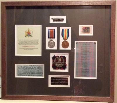 William john MacDonald, Queens Own Cameron Highlanders private 200318