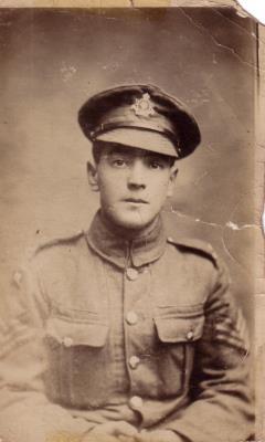 John Golding, Sgt Cyclist Corps WW1