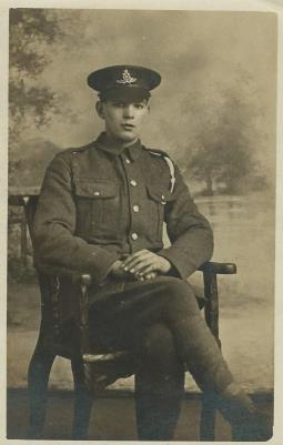 John Morgan, Gunner Royal Field Artillery