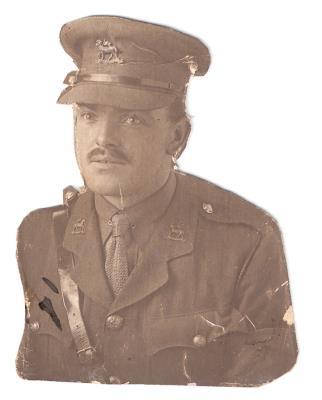 Wallace W Davidson, Lieutenant 7717