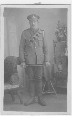 Samuel Harding, 48th Heavy Battalion Royal Garrison Artillery/ Gunner