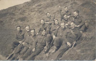 Jonathan Cecil (Nat) Davies, Gunner, Royal Artillery