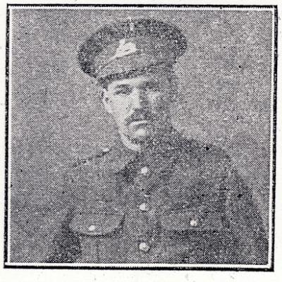 Wilfred Henry Whelpton, Lincolnshire Regiment 6th Batt 10602. Private