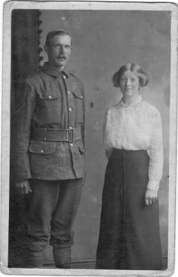 Joseph Gibson, Private 21523 7th Battalion The Lincolnshire Regiment