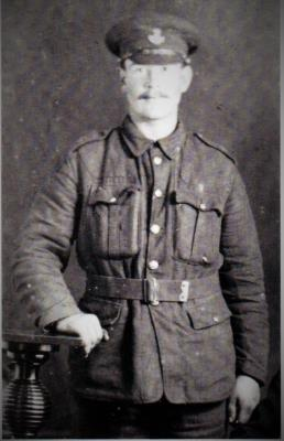 Newrick Curry, 18/459 Pte  durham light infantry