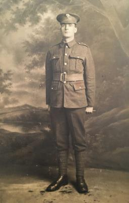 Sidney Herbert Frampton, Private 4th Battalion Grenadier Guards