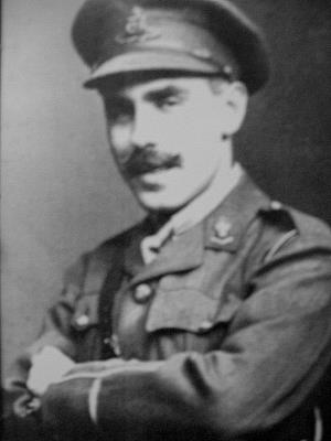 Charles Henry Claude King, Second Lieutenant in the Royal Field Artillery