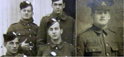 Harold H Fenton alias Frederick Byard/Baird, Lancashire Fusiliers & Royal Scottish Regiment