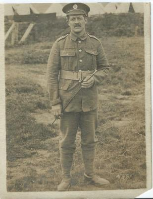 Henry WJ Price, Lance Corporal   233rd Field Company