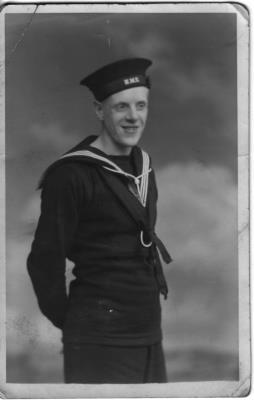 Henry Frank Ferguson, Able Seaman C/LD/X 5602, H.M.S. Jervis Bay, R.N.V.R.