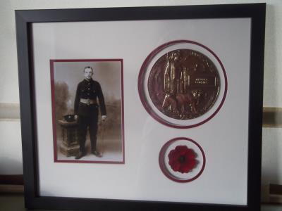 Maurice  Cummins, WW1 Leinster Regiment, Lance Corporal