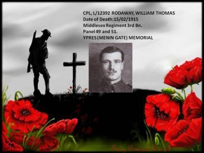 WILLIAM THOMAS RODAWAY, CORPORAL