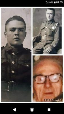 Arthur Williams , Served at ypres Belgium and turkey. Lewis machine gunner