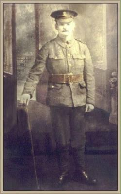 Michael Leonard, Private, 9th Bn Royal Dublin Fusiliers.   Served in France and Belgium for the duration.
