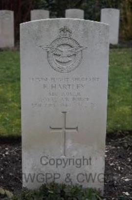 Frank Hartley, Flight Sergeant Bomber Command