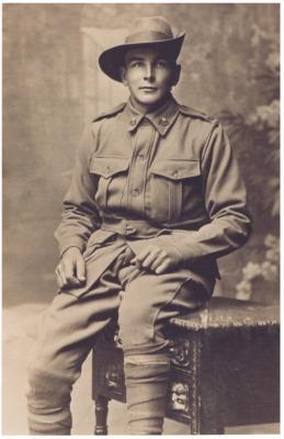 William Henry RUDKIN, Lance Corporal  -  17th Battalion AIF