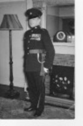 Kenneth Francis Broom, RSM, Warrant Officer First Class, DCLI - RWAFF