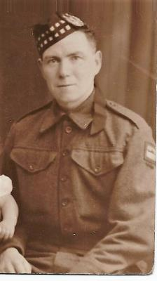 Hugh MacDonald, Gordon Hlds. Pte