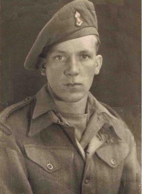 Harold Coleman, Gunner, 156 Field Battery Royal Artillery (Lanarkshire Yeomanry)