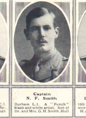 Neville Field Smith, Captain 15DLI
