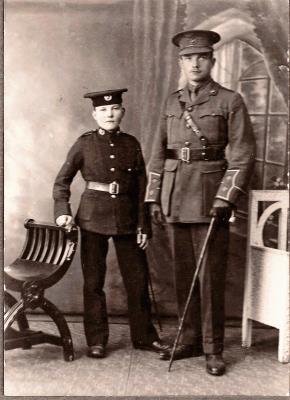 Peter Ligertwood, 2nd Battalion RMLI WW1