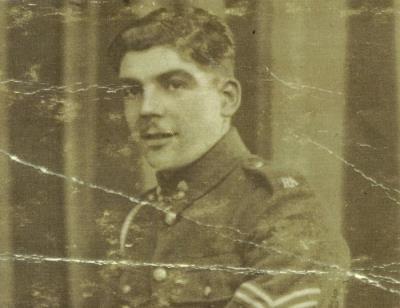 John alfred Chadwick, Gunner Royal Artillery