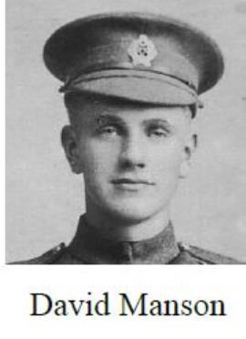 David Manson, Lance Corporal