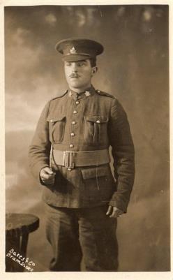 Arthur Edward (Jack) Weller, 622445, 44th Bn., Canadian Infantry (New Brunswick Regiment)