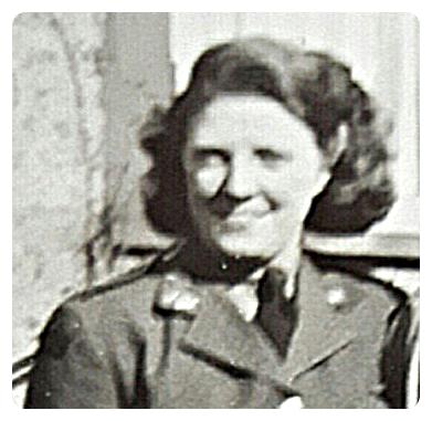 Margurite Woodward, CPL, C.W.A.C   WW II